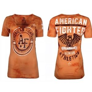 AMERICAN FIGHTER Womens T-Shirt GULF COAST